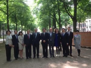 NSOB ontvangt delegatie CELAP